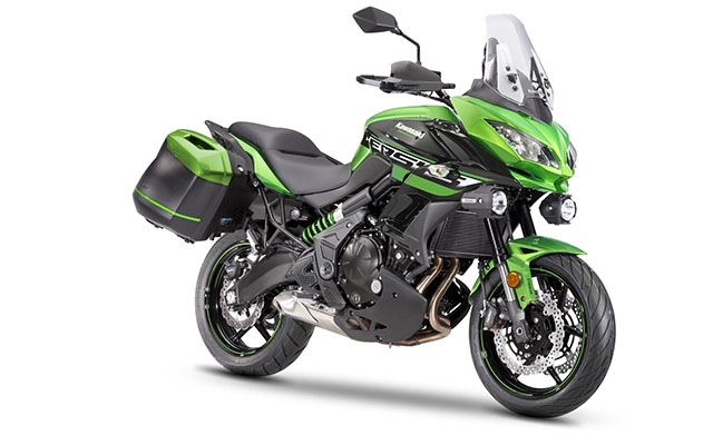 Kawasaki Versys 650 Tourer Plus Green/Black