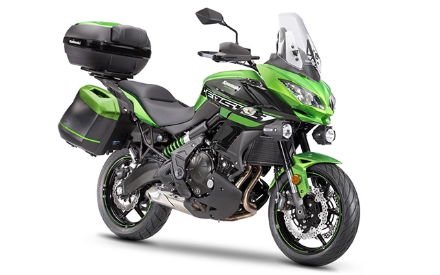 Kawasaki Versys 650 Grand Tourer Green/ Black