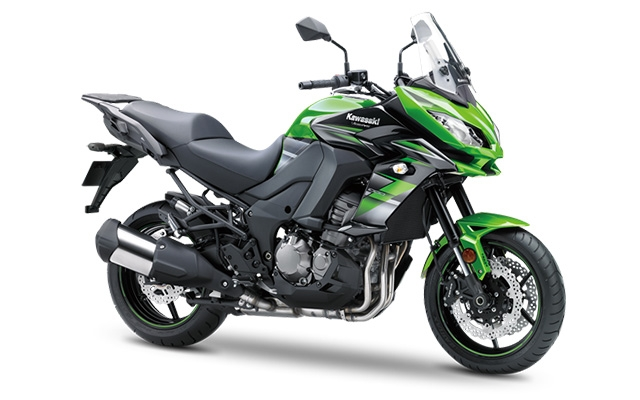 Kawasaki Versys 1000 Green/ Black