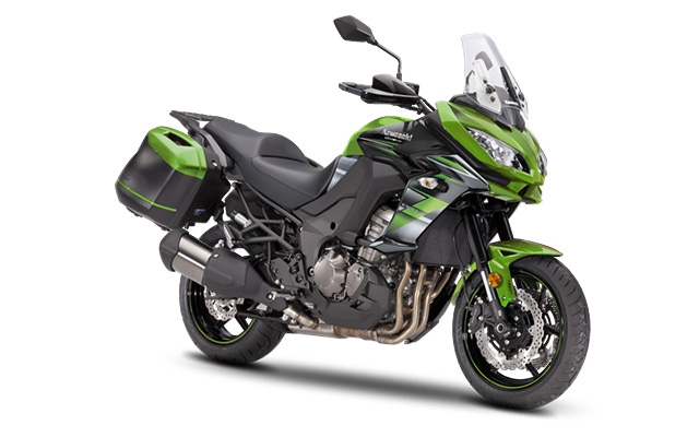 Kawasaki Versys 1000 Tourer Green/ Black