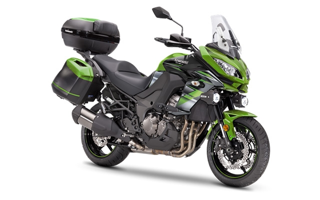 Kawasaki Versys 1000 Grand Tourer Green/ Black