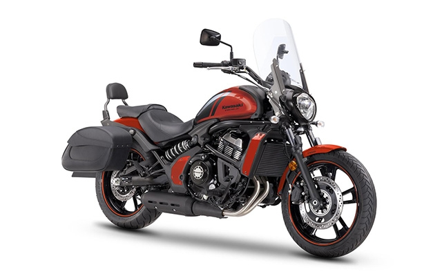 Kawasaki Vulcan S Light Tourer Orange