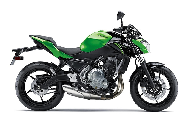 Kawasaki  Z650 CANDY LIME GREEN